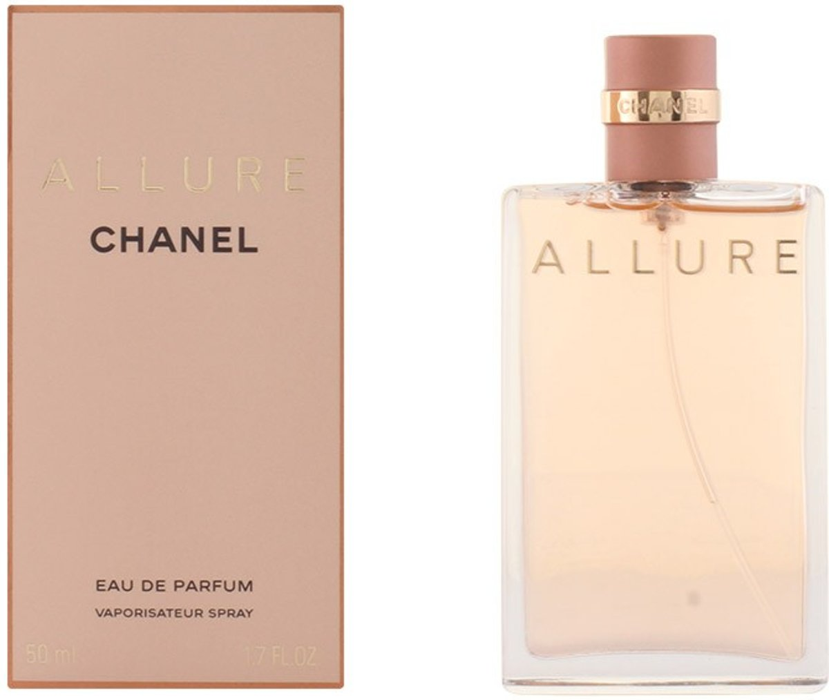 MULTI BUNDEL 2 stuks ALLURE Eau de Perfume Spray 50 ml