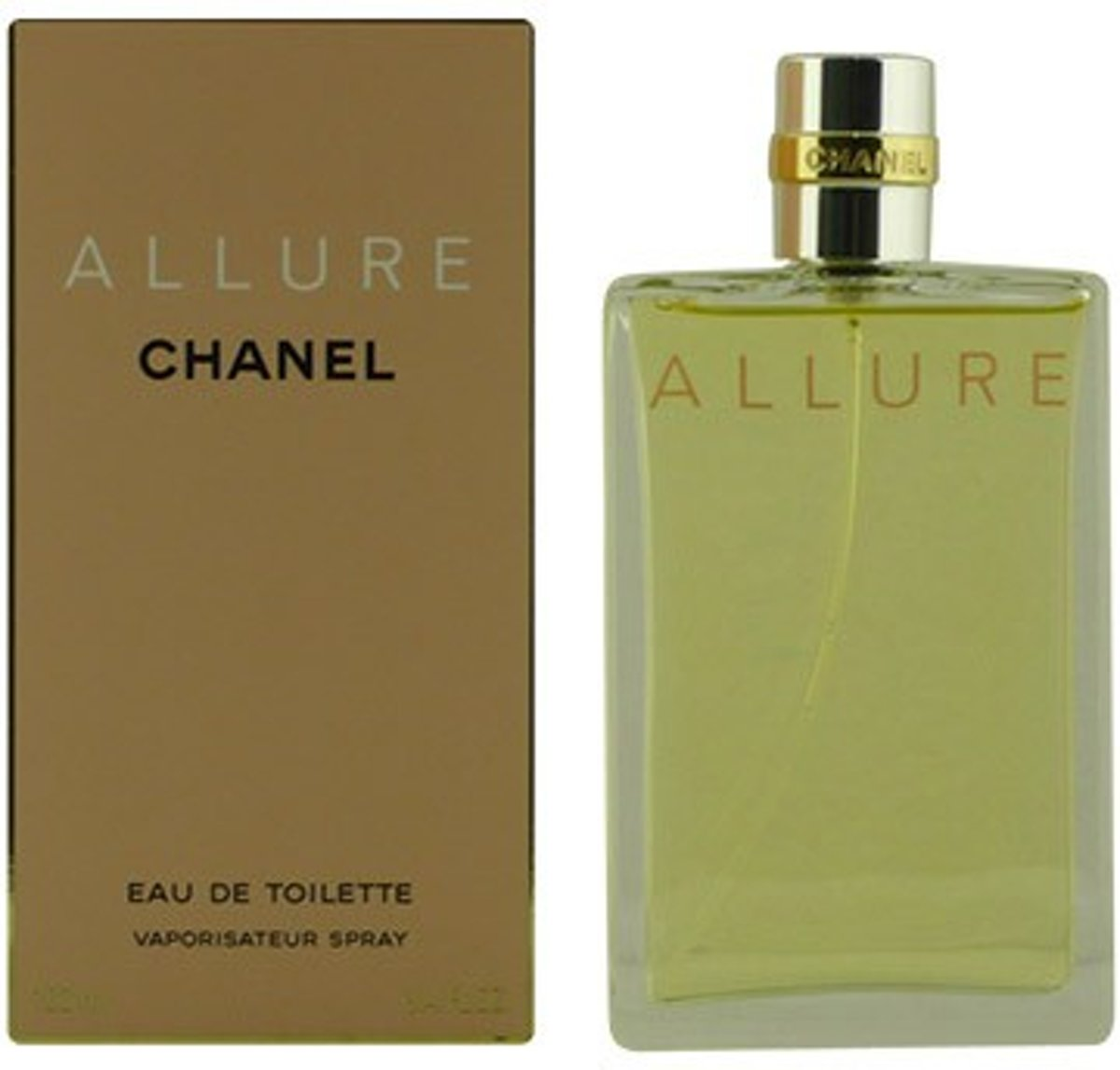 MULTI BUNDEL 2 stuks ALLURE Eau de Toilette Spray 100 ml