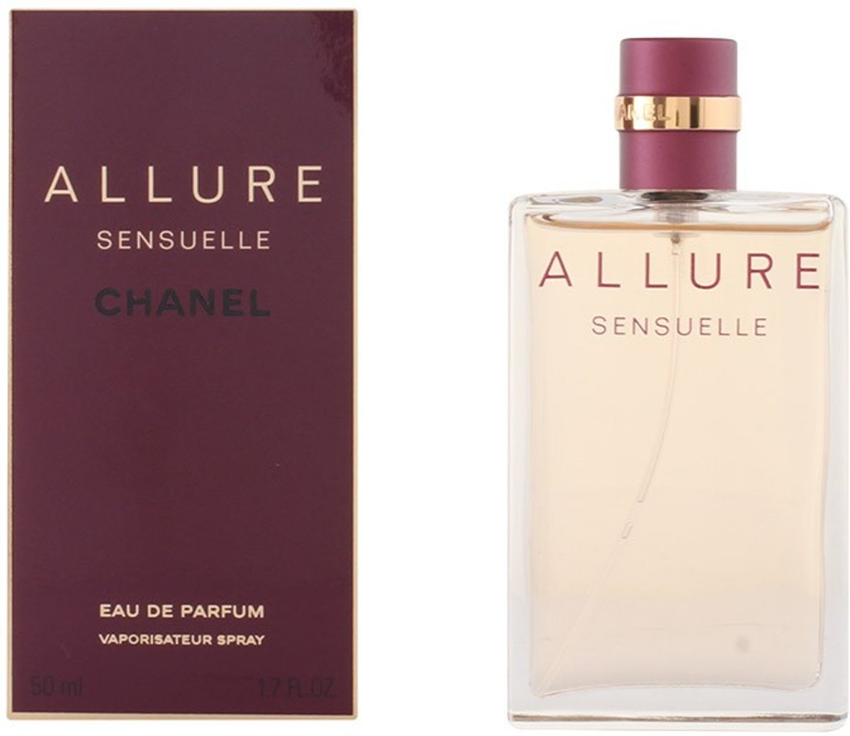 MULTI BUNDEL 2 stuks ALLURE SENSUELLE Eau de Perfume Spray 50 ml