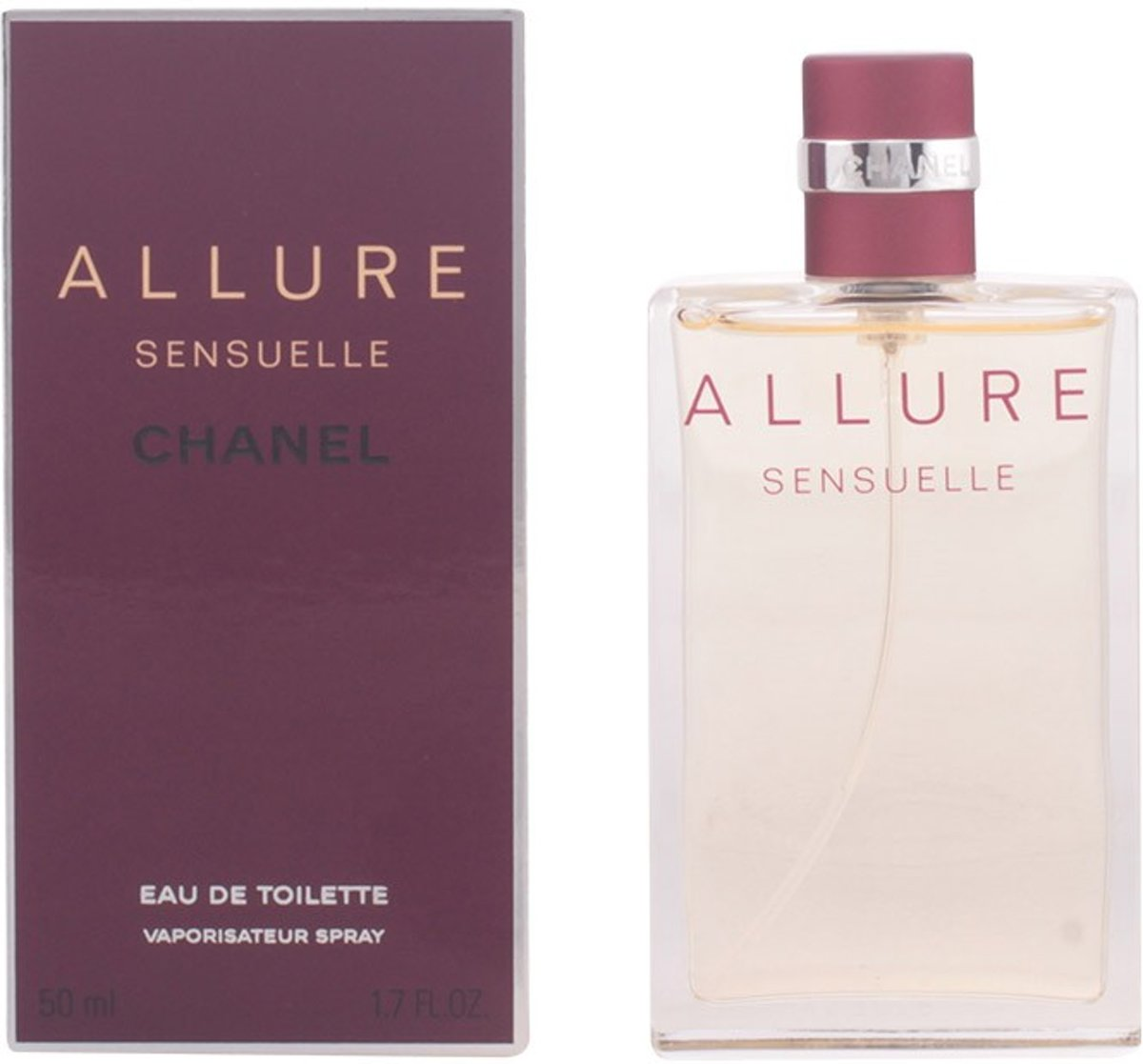MULTI BUNDEL 2 stuks ALLURE SENSUELLE Eau de Toilette Spray 50 ml