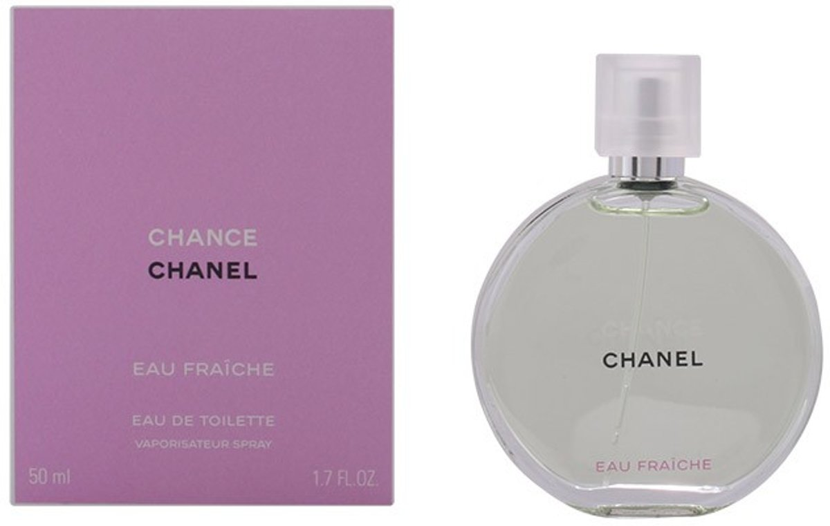 MULTI BUNDEL 2 stuks CHANCE EAU FRAICHE Eau de Toilette Spray 50 ml