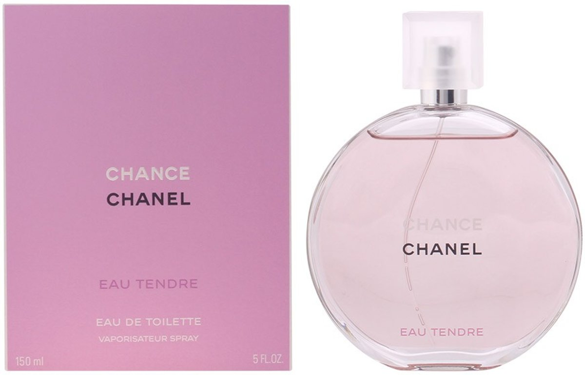 MULTI BUNDEL 2 stuks CHANCE EAU TENDRE Eau de Toilette Spray 150 ml