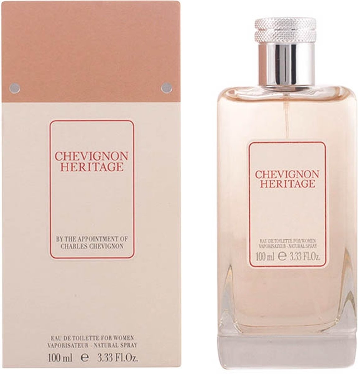 CHEVIGNON HERITAGE FOR WOMEN eau de toilette spray 100 ml