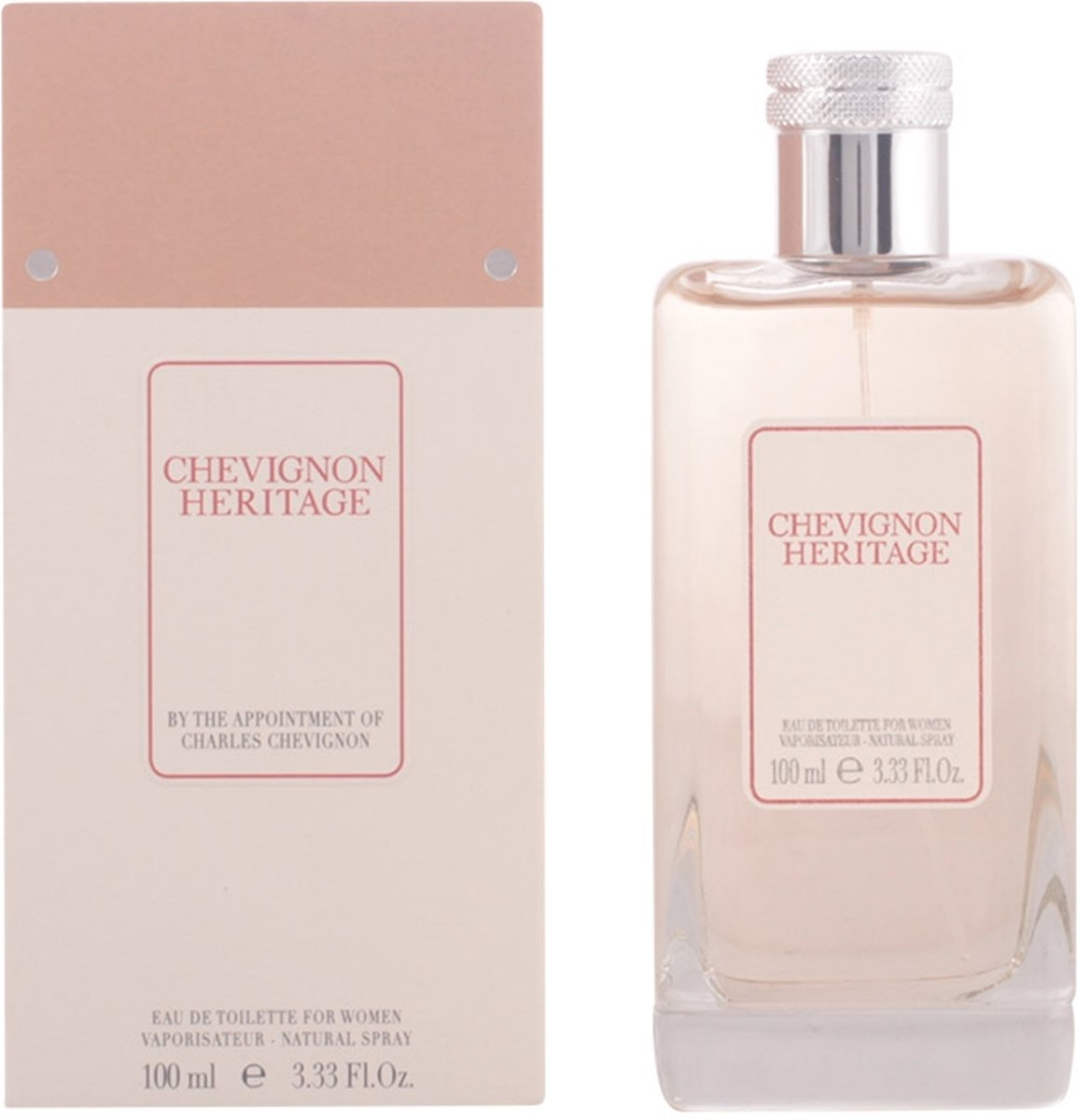 MULTI BUNDEL 2 stuks Chevignon Heritage Eau De Toilette Spray 100ml