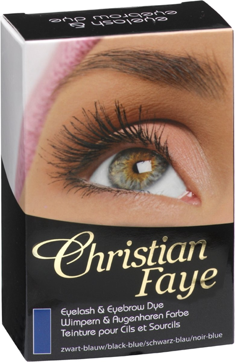 Christian Faye - Eyebrow/eyelash dye blue
