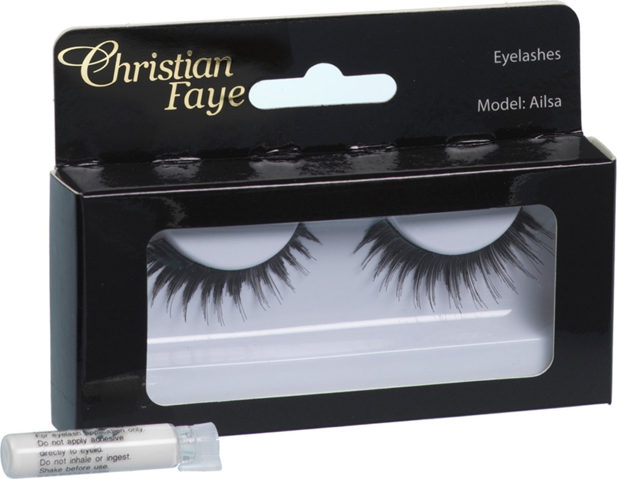 Christian Faye - Eyelashes Ailsa w glue