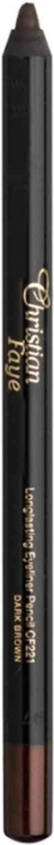 Christian Faye  Gel Eyeliner Pencil  Eyeliner 1 st. - CF221 - Dark Brown