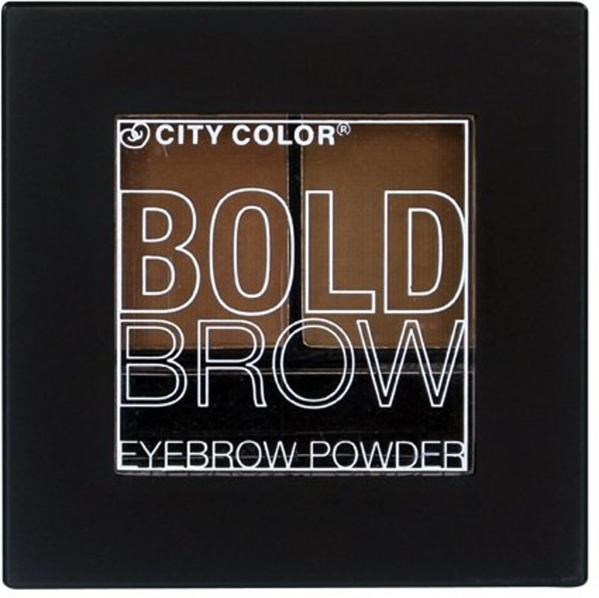 City Color Bold Brow Kit � Medium to Dark