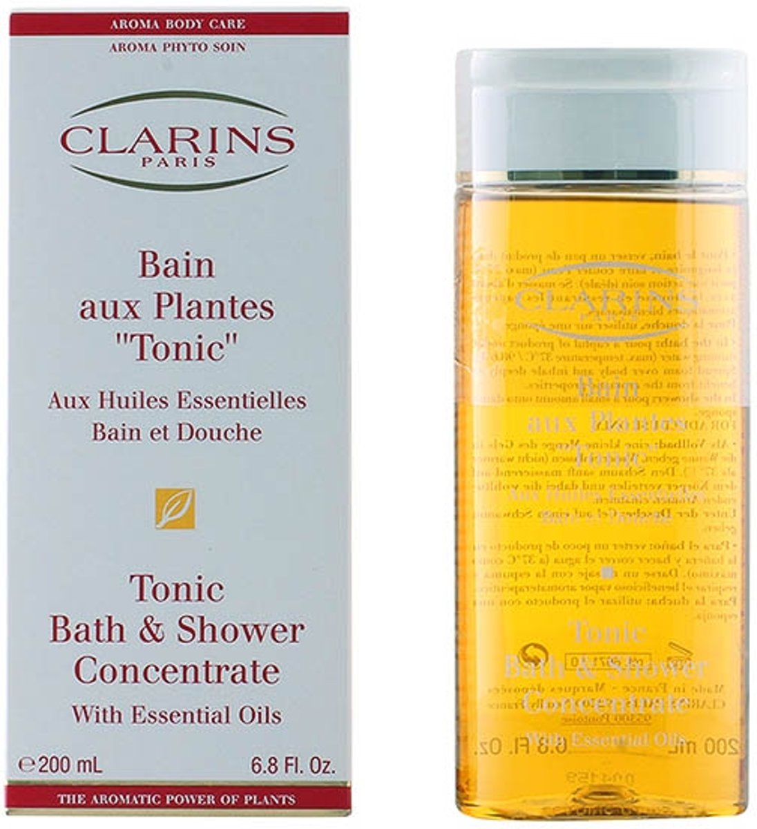 Clarins Bain Plantes Tonic Bad Gel - 200 ml -Badolie