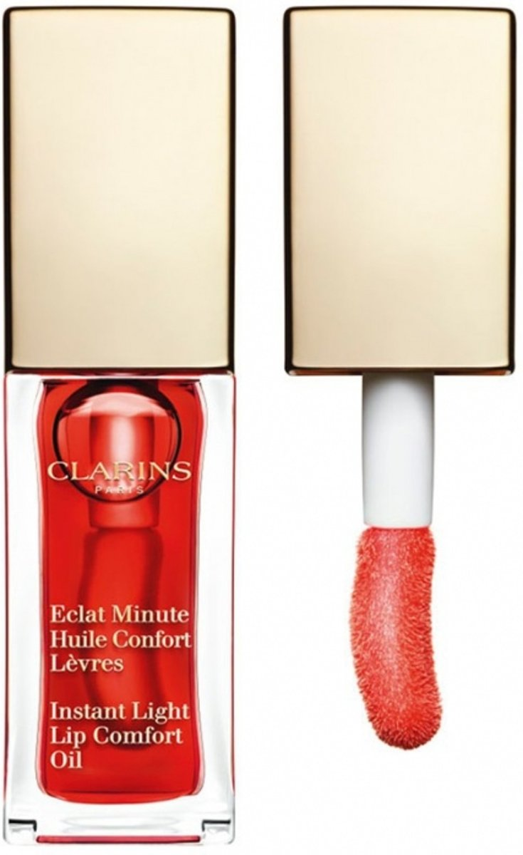 Clarins Eclat Minute Huile Confort Lèvres Lipgloss 7 ml - 03 - Red Berry