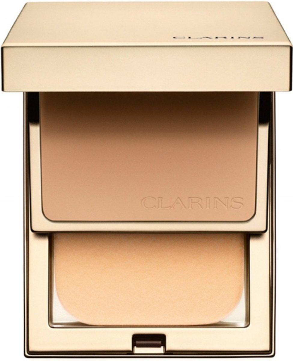 Clarins Everlasting Compact Foundation 10 gr. - 112 - Amber