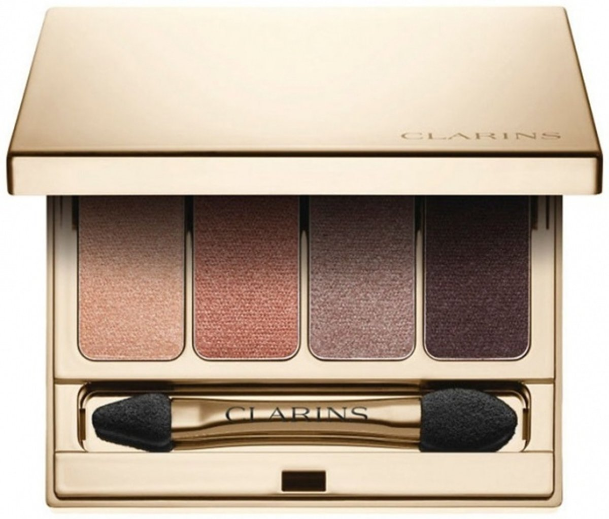 Clarins Palette 4 Couleurs Oogschaduwpalette 6.9 gr. - 02 - Rosewood