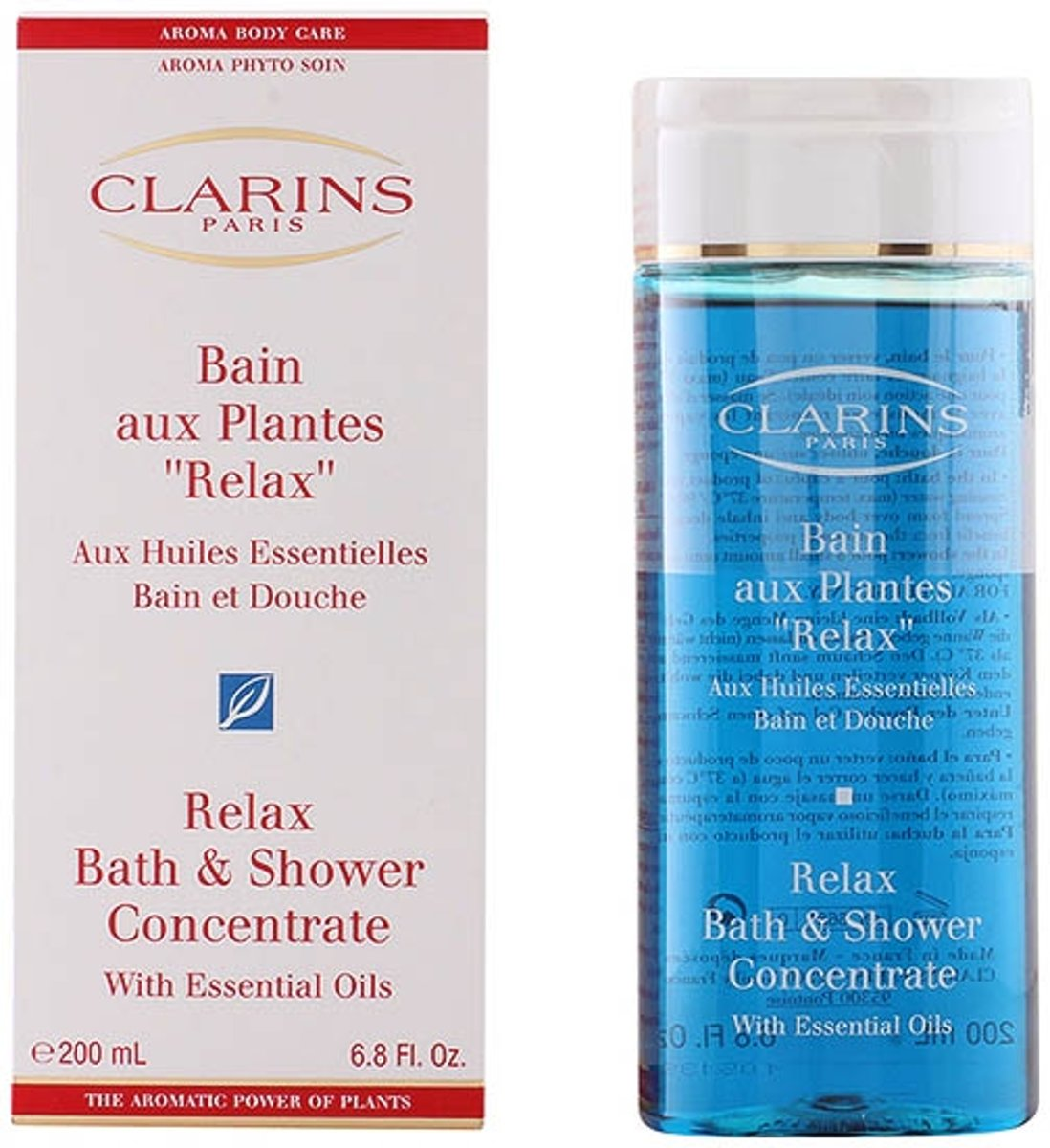 Clarins Relax Bath & Shower Concentrate - 200 ml - Badschuim