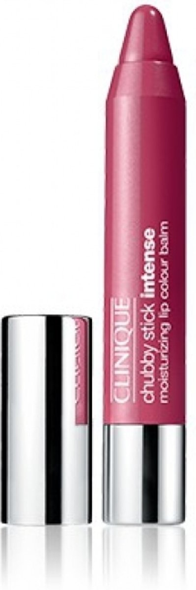 CLINIQUE CHUBBY STICK INTENSE 06 ROOMIEST ROSE 3G MOISTURIZING LIP COLOUR BALM - Cosmetics