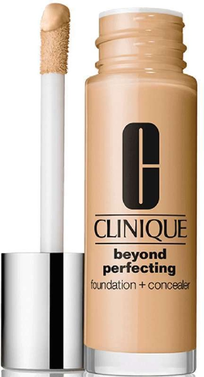 Clinique - Beyond Perfecting Foundation + Concealer - 01 Linen - 30 ml