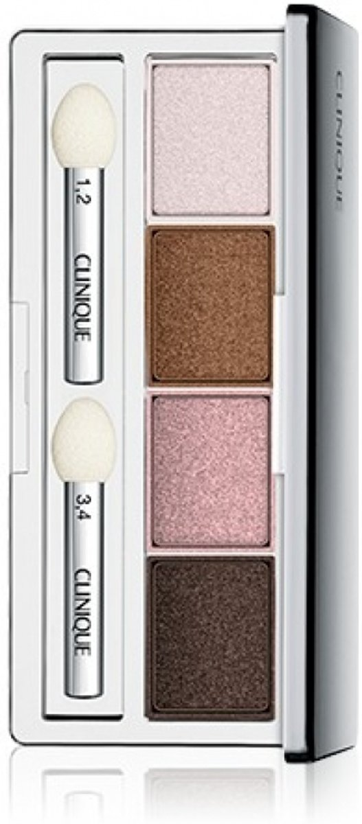 Clinique All About Shadow Eyeshadow Quad - 06 Pink Chocolate - oogschaduw palette