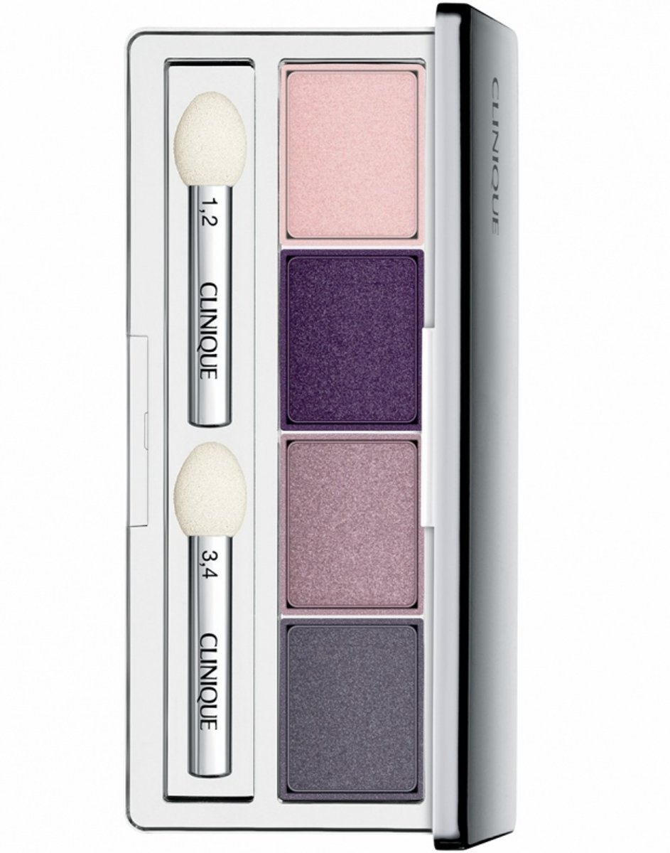 Clinique All About Shadow Eyeshadow Quad - 08 Ticklish - oogschaduw palette