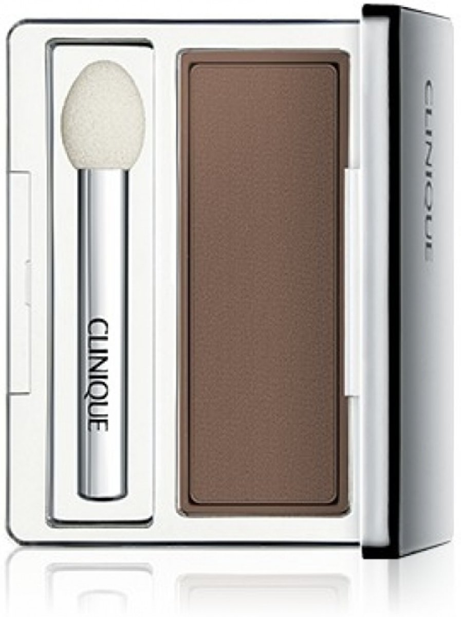 Clinique All About Shadow Soft Matte Eyeshadow - 2,2 gr - AC French Roast - oogschaduw met kwastje