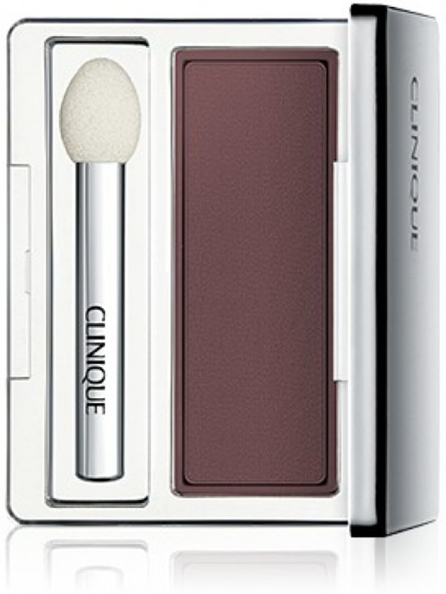 Clinique All About Shadow Soft Matte Eyeshadow - 2,2 gr - AX Choclate Covered Cherry - oogschaduw met kwastje