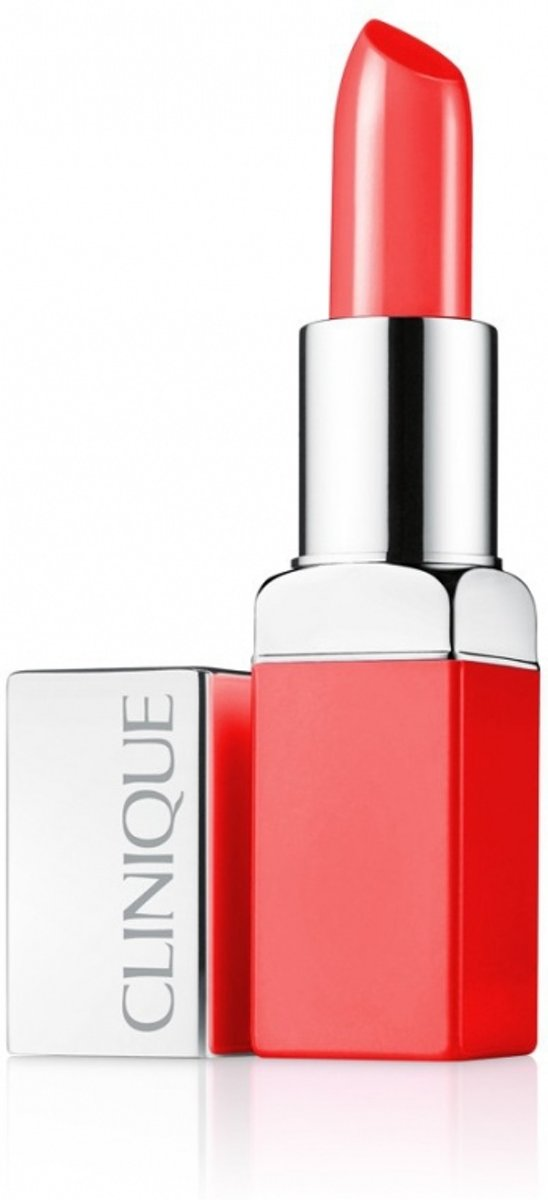 Clinique Pop Lip Colour + Primer Lipstick  - 06 - Poppy Pop
