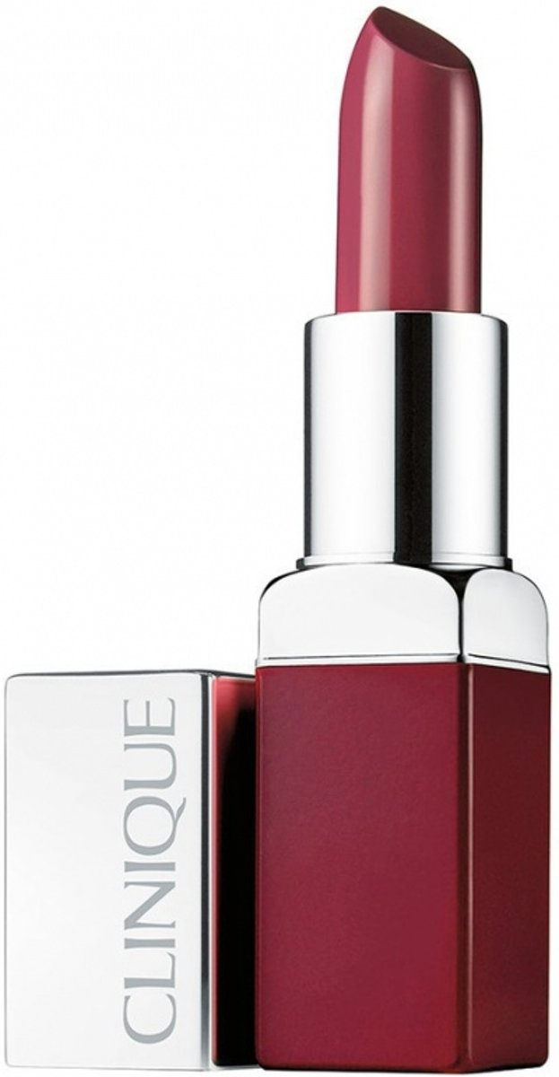 Clinique Pop Lip Colour + Primer Lipstick 3,9 gr - 21 - Rebel Pop
