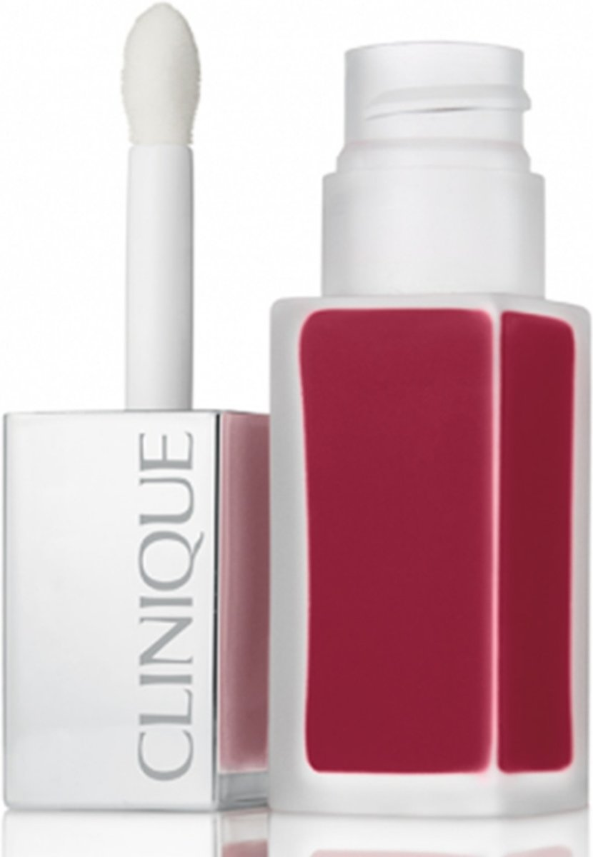 Clinique Pop Liquid Matte Lip Colour + Primer - Candied Apple - Lip Gloss