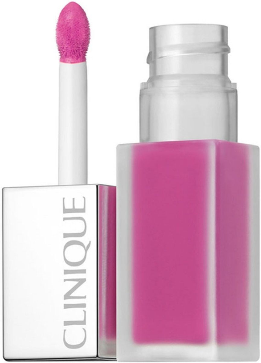 Clinique Pop Liquid Matte Lip Colour + Primer - Petal Pop - Lip Gloss 6 ml  - Roze