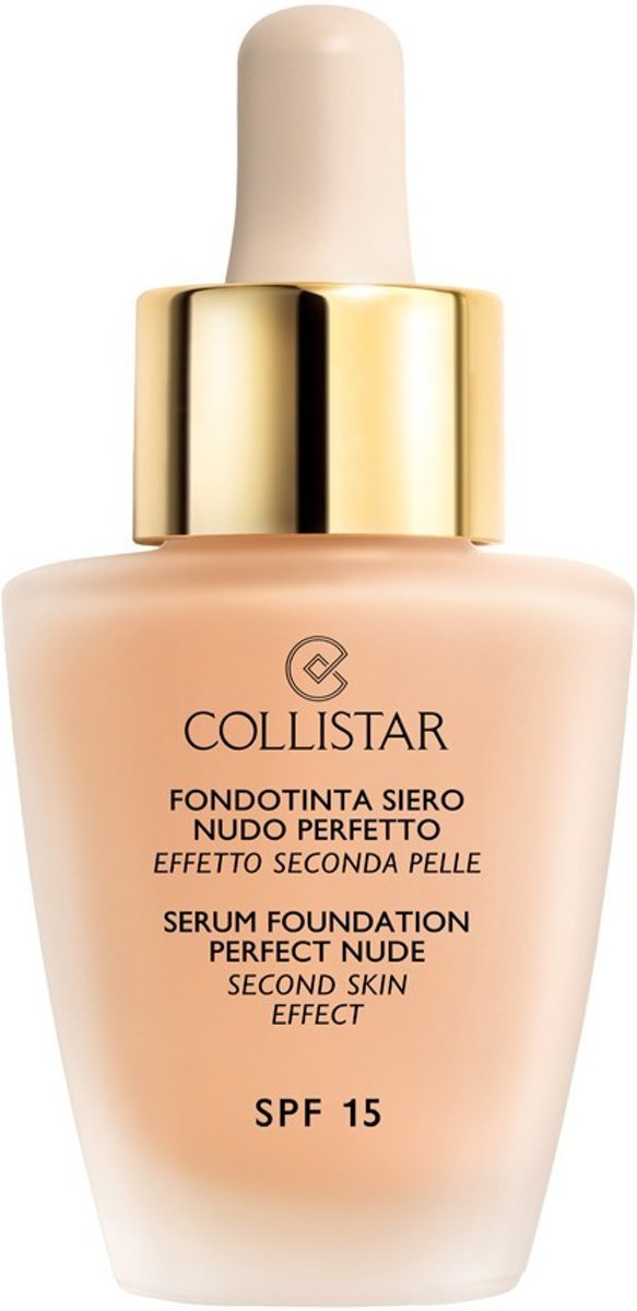 Collistar - Serum Foundation Perfect Nude - SPF 15 - 5 Amber - Foundation