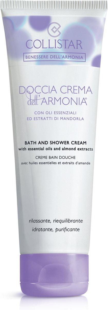 Collistar Benessere DellArmonia Bath & Shower Cream - 250 ml - Douchecreme