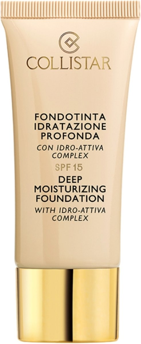 Collistar Deep Moisturizing Foundation 30 ml - 3 - Nudo