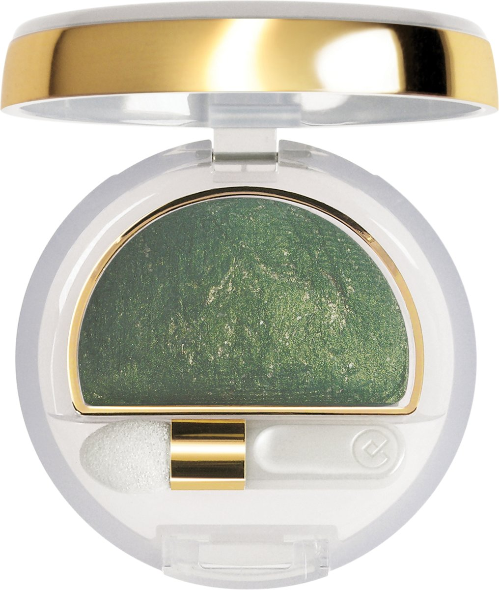 Collistar Double Effect Wet & Dry Eyeshadow - 10 Gold green - Oogschaduw