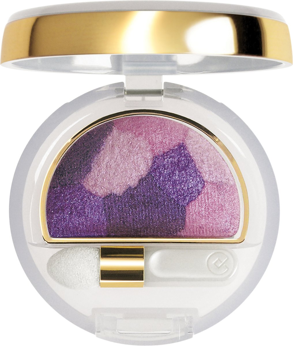 Collistar Double Effect Wet & Dry Eyeshadow - 16 Patchwork Violet - Oogschaduw