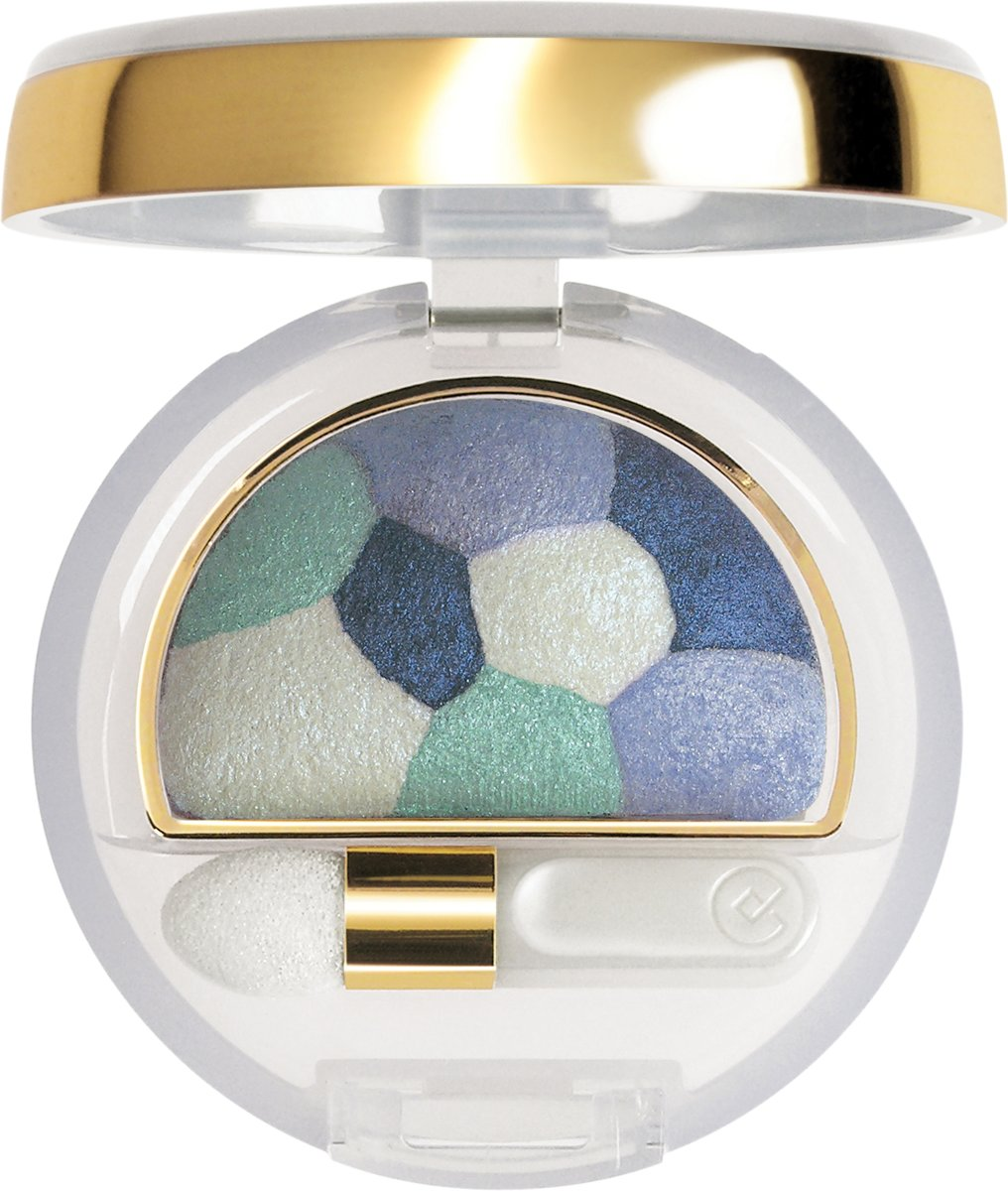 Collistar Double Effect Wet & Dry Eyeshadow - 17 Patchwork Celeste - Oogschaduw