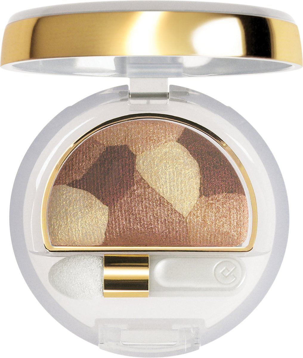 Collistar Double Effect Wet & Dry Eyeshadow - 18 Patchwork Bronze - Oogschaduw