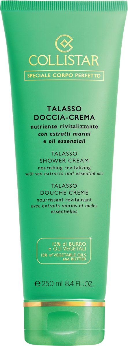 Collistar Lichaam Talasso Shower-Cream - 250 ml - Douchecreme