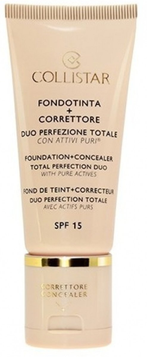 Collistar Perfection Duo Foundation en Concealer - 4 Amber - Foundation