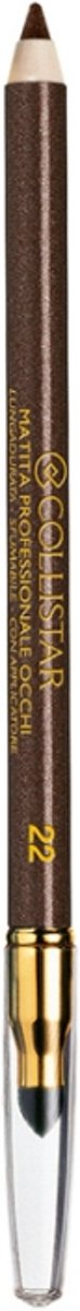 Collistar Professional Eye Pencil Glitter Oogpotlood 1 st. - 22 - Marrone Metallico