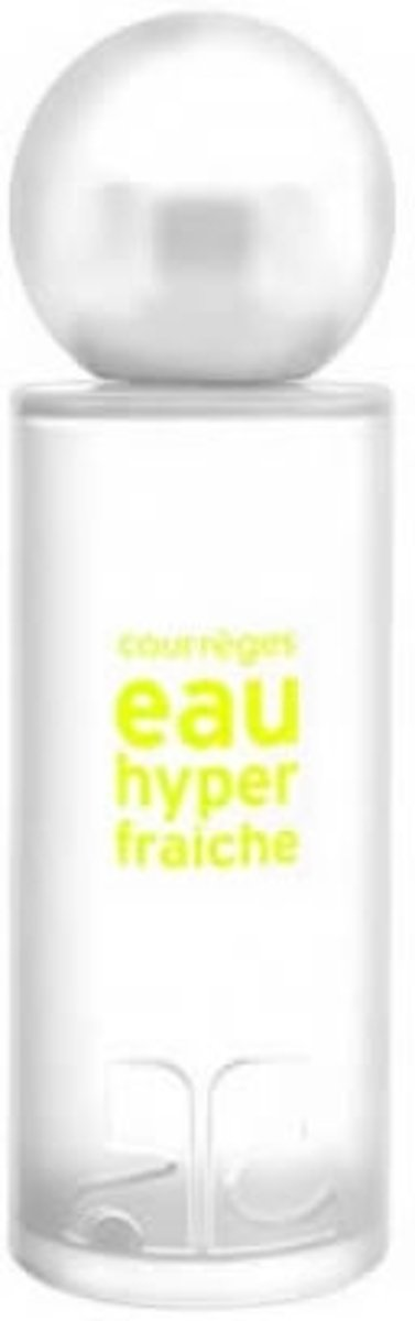 MULTI BUNDEL 2 stuks Courreges Eau Hyper Fraiche Eau De Toilette Spray 50ml