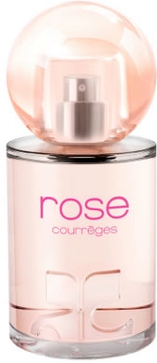 MULTI BUNDEL 2 stuks Courreges Rose Eau De Perfume Spray 50ml