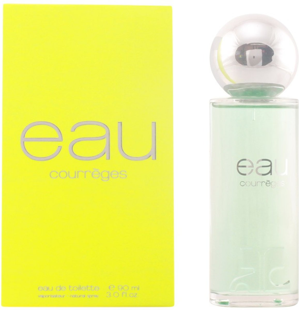 MULTI BUNDEL 2 stuks EAU DE COURRÈGES Eau de Toilette Spray 90 ml