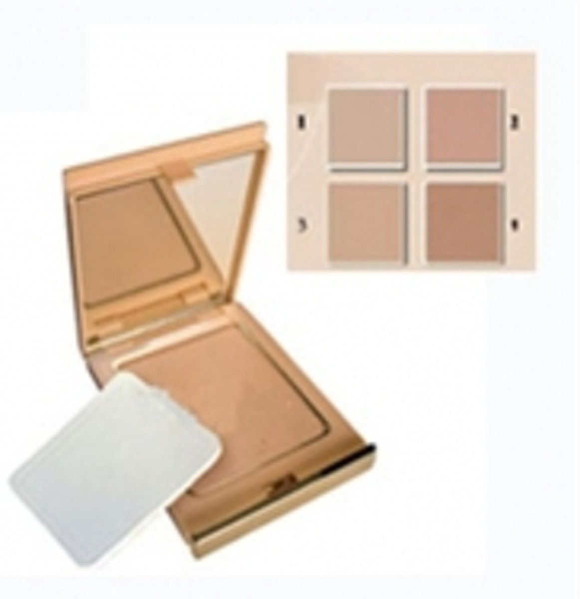 Coverderm - Compact Powder waterproof - 1 Normal skin