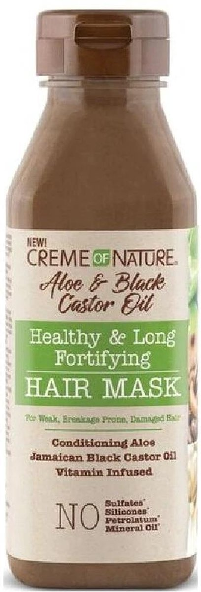 Creme of Nature Aloe & Black Castor Oil Hair Mask 355ml