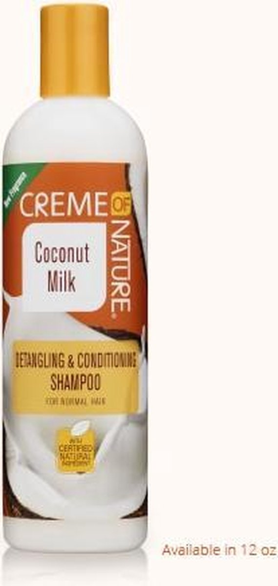 Creme of Nature Coconut Milk Detangling & Conditioning Shampoo 355 ml