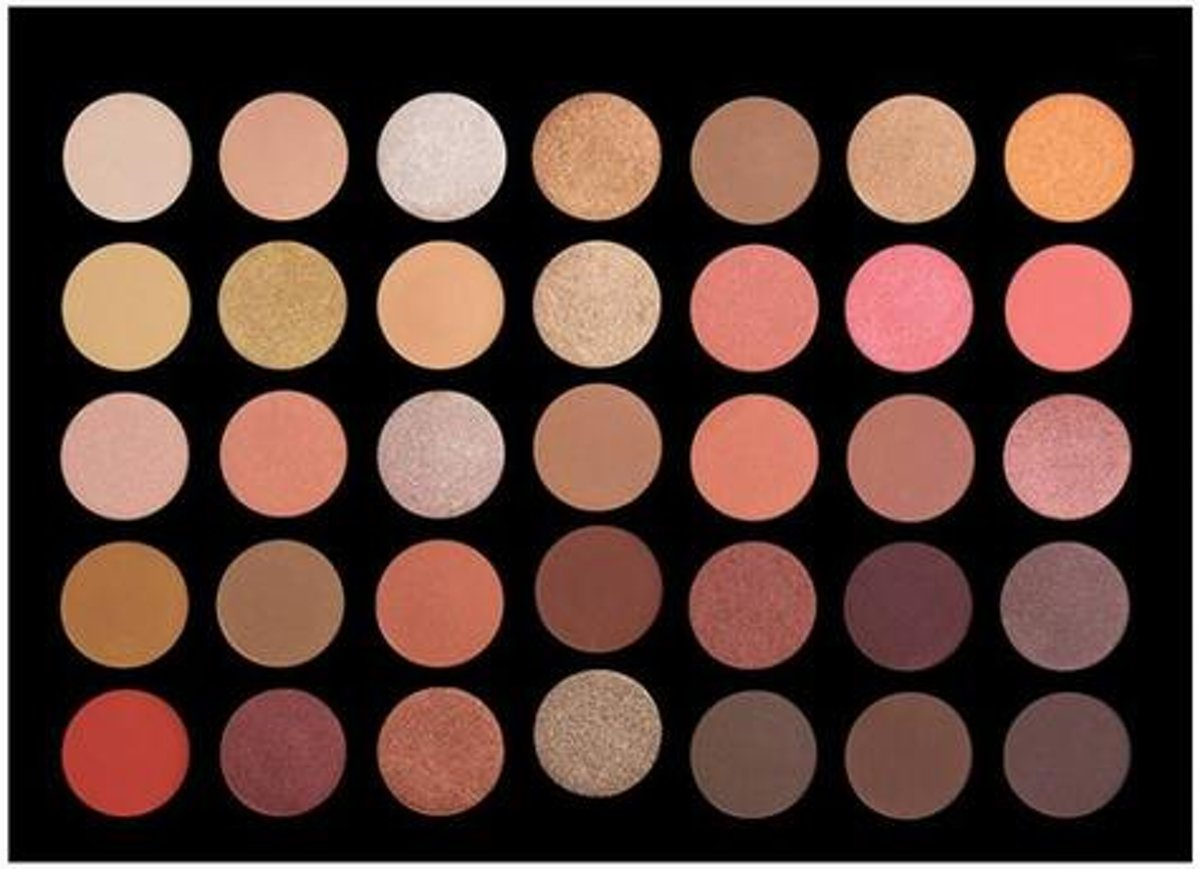 35 Colour Rose Gold Eyeshadow Palette