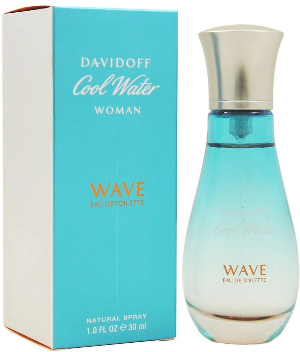 DAVIDOFF COOLWATER WAVE WMN EDT Spr 30,0 ml