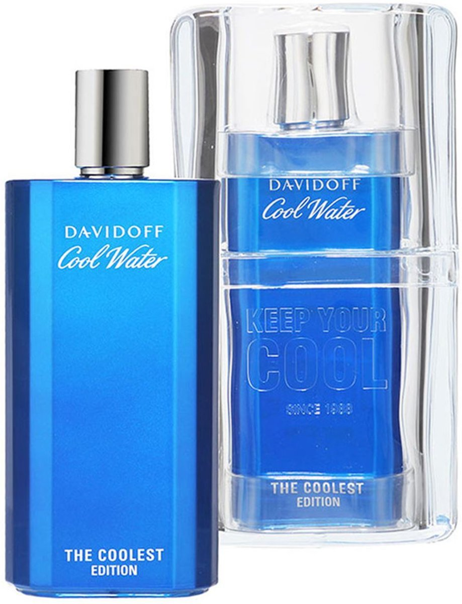 Davidoff - Coolwater The Coolest Edition 2018 Men - 200 ml - Eau De Toilette - voor mannen