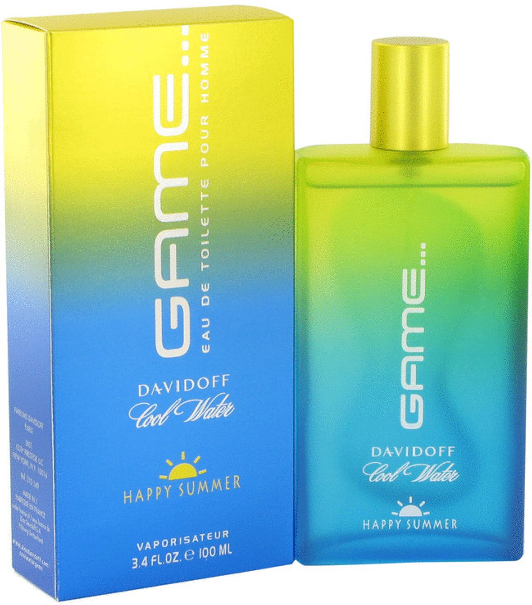 Davidoff Cool Water Game Happy Summer - Eau de toilette spray - 100 ml