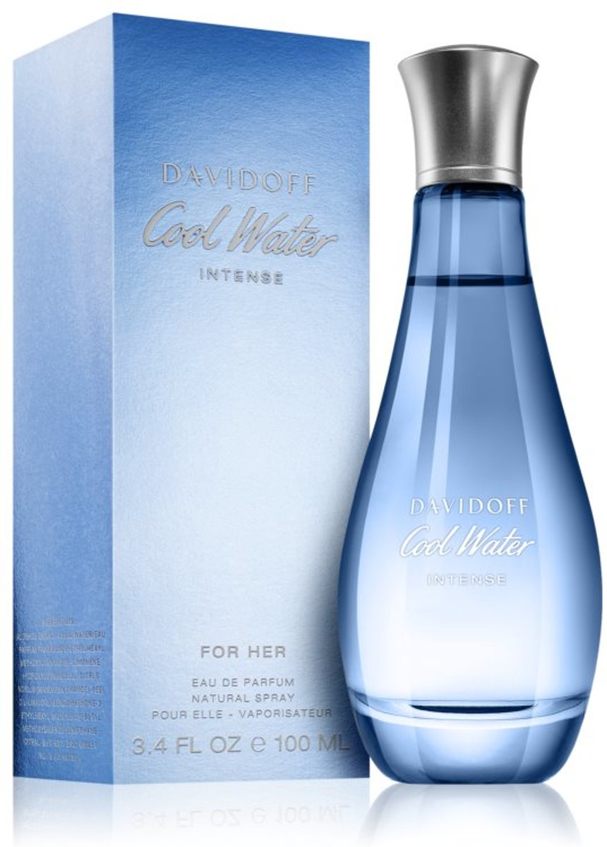 Davidoff Cool Water Intense for Her - Eau de parfum spray - 100 ml