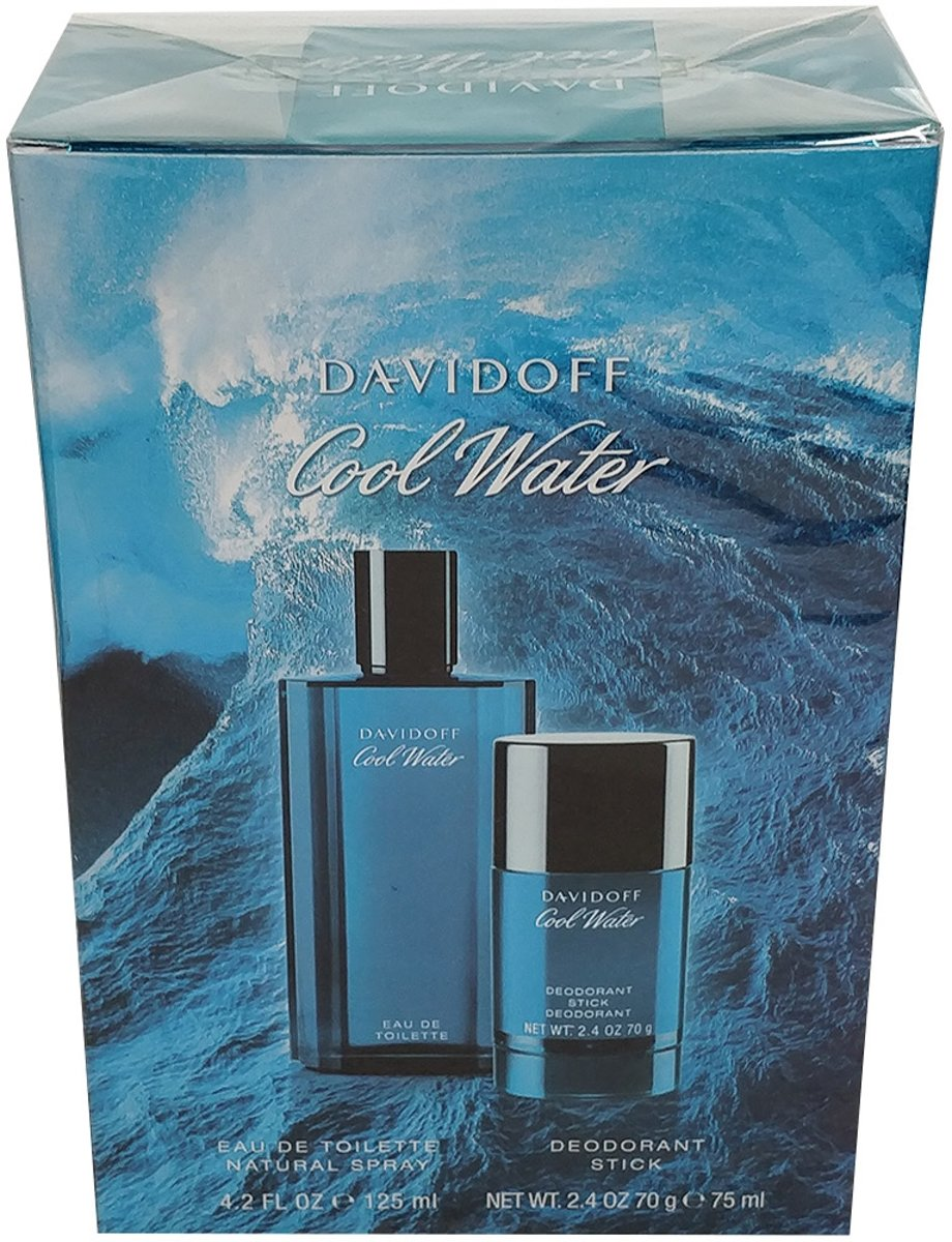 Davidoff coolwater men edt 125 ml spray + deo stick 75 gr