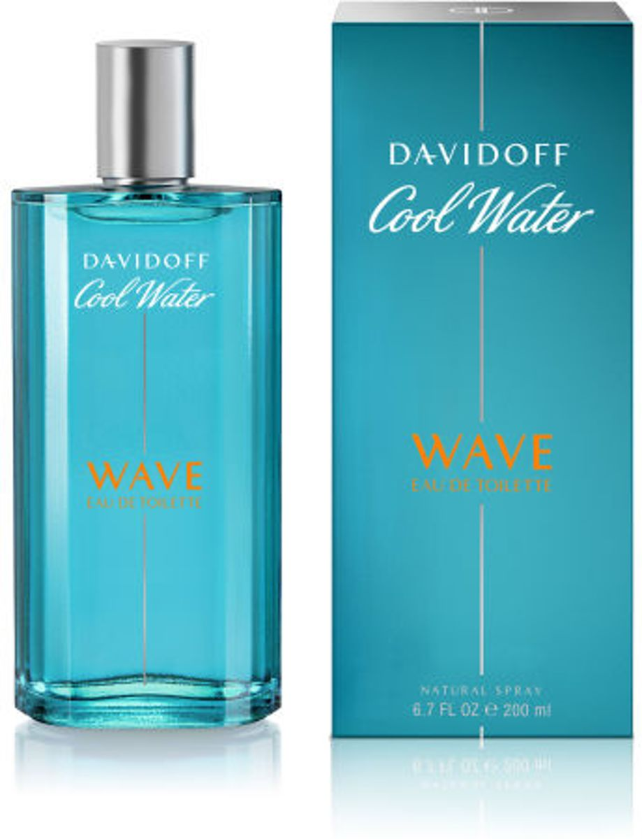 Davidoff coolwater wave men edt 200 ml spray